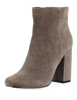 Studio Suede Side Zip Bootie by Charles David