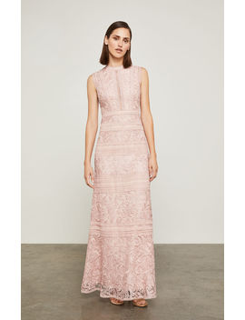 Scrolling Lace Gown by Bcbgmaxazria