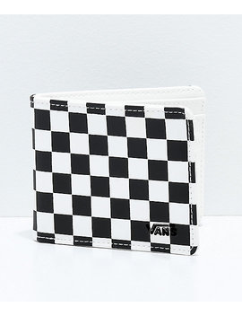 Vans Checkered Black & White Bifold Wallet by Vans