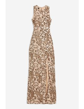 **Sleeveless Sequin Maxi Dress By Club L by Topshop