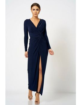 **Slinky Knot Maxi Dress By Club L by Topshop
