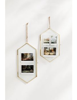 Monroe Hanging Hexagon Gallery Picture Frame by Urban Outfitters