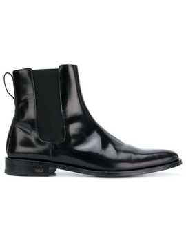 Ami Alexandre Mattiussi Chelsea Boots With Thick Leather Solehome Men Ami Alexandre Mattiussi Shoes Boots by Ami Alexandre Mattiussi