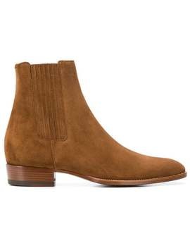 Saint Laurent Wyatt 30 Bootshome Men Saint Laurent Shoes Boots by Saint Laurent