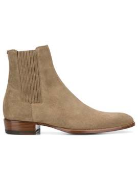 Saint Laurent Wyatt 30 Chelsea Bootshome Men Saint Laurent Shoes Boots by Saint Laurent