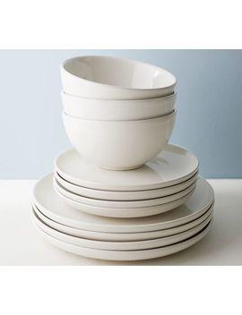 Joshua Bowl, Set Of 4   Ivory White by Pottery Barn