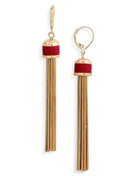 Tassel Fringe Earrings by Vince Camuto