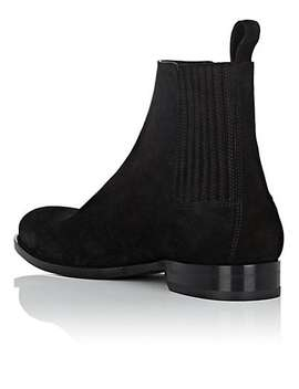 Dare Suede Chelsea Boots by Saint Laurent