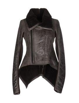 Rick Owens Biker Jacket   Coats & Jackets D by Rick Owens