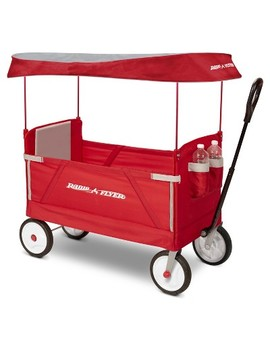 Radio Flyer 3 In 1 Ez Fold Wagon™ With Canopy by Shop All Radio Flyer