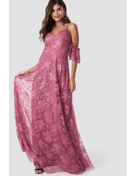 Rose Dry Maxi Dress by Trendyol
