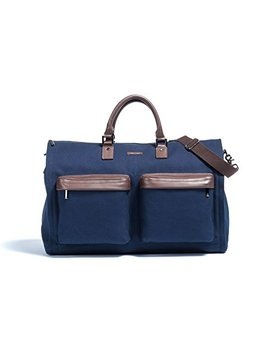 Hook & Albert Twill Gen. 2 Garment Weekender Bag (Navy) by Hook & Albert
