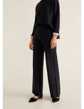 Alpaca Trousers by Mango