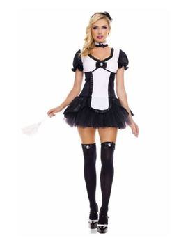 Adult Cameo French Maid Costume   Music Legs 70455 by Music Legs