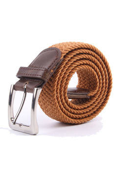 Gelante Canvas Elastic Fabric Woven Stretch Braided Belts by Gelante
