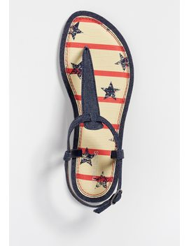 Sheena Denim Star Sandal by Maurices