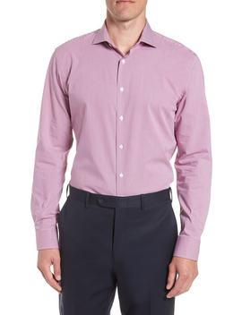 tech-smart-trim-fit-houndstooth-dress-shirt by nordstrom-mens-shop