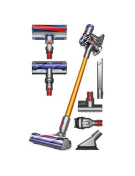 Dyson V8 Absolute Cordless Hepa Vacuum Cleaner + Fluffy Soft Roller And Direct Drive Cleaner Head + Mini Motorized Tool + More by Dyson