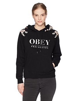 Obey Women's Lottie Hooded Sweatshirt by Obey