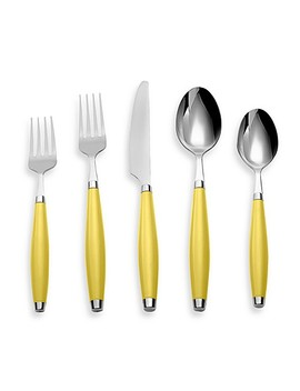 Fiesta® By Cambridge® 5 Piece Flatware Place Setting In Sunflower by Bed Bath And Beyond