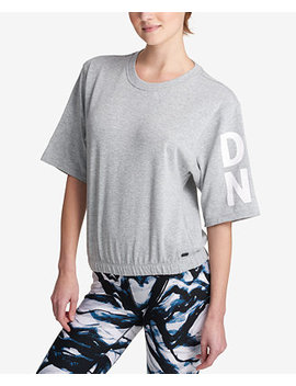 Sport Short Sleeve Graphic Sweatshirt by Dkny