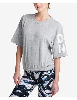 Sport Short Sleeve Graphic Sweatshirt by Dkny