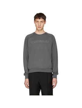 Grey Signature 3.0 Sweatshirt by Cottweiler