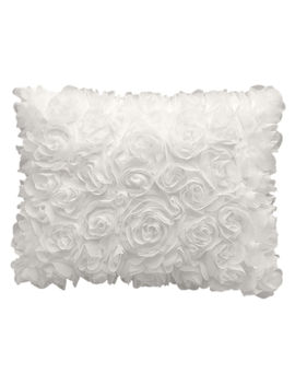 Dylan Sheer Floral Cream 14 X18 by At Home