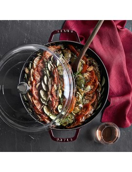 Staub Cast Iron Universal Deluxe Pan by Williams   Sonoma