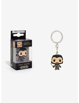 Funko Game Of Thrones Pocket Pop! Jon Snow Key Chain by Hot Topic
