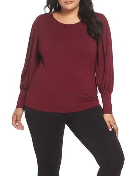 Bubble Drama Sleeve Tee by Vince Camuto