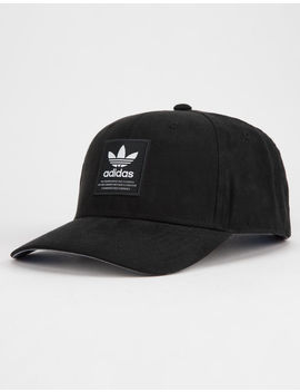 Adidas Originals Trefoil Patch Black Mens Snapback Hat by Adidas