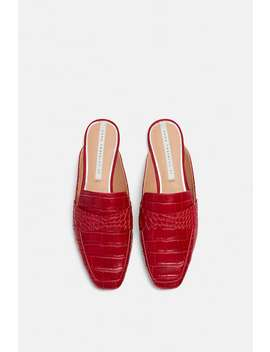 Slippers  Flats Shoes Woman by Zara