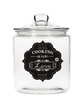 Cooking Is Love Jar by At Home