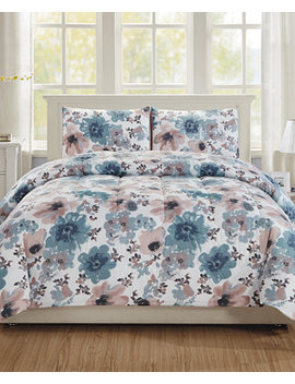 Brigitta 2 Pc. Twin Comforter Set, A Macy's Exclusive Style by Hallmart Collectibles