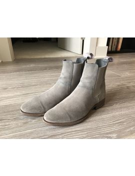 Story Et Fall Grey Suede Chelsea Boots Size 40 Eu by Story Et Fall