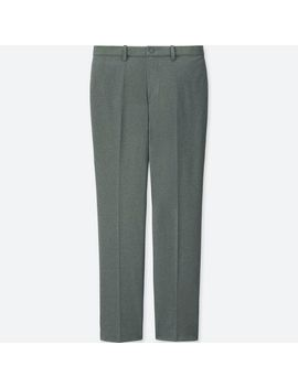 Men Ezy Ankle Pants (Ultra Stretch Dry Ex) by Uniqlo