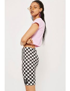 Checkerboard Cycling Shorts By New Girl Order by Topshop