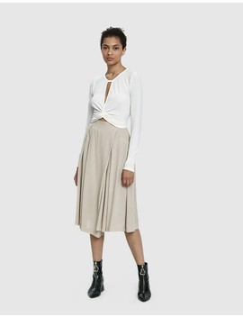 Ethyl Pleated Culotte by Stelen