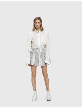 Goyave Smocked Mini Skirt by Farrow