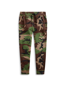 Camo Cotton Blend Jogger by Ralph Lauren