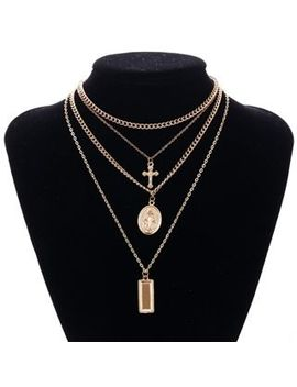 Multi Chain Necklace by Bast