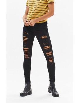 711 Mystery Black Skinny Jeans by Levi's