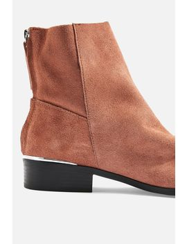 Koko Unlined Leather Boots by Topshop