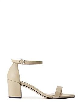 Simplemid Glitter Heeled Block Sandal by Stuart Weitzman