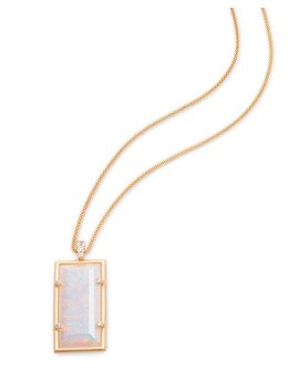 Edith Long Pendant Necklace In Gold by Kendra Scott
