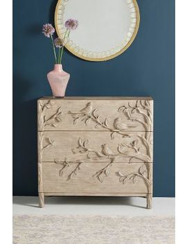 Orinthology Three Drawer Dresser by Anthropologie