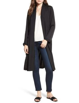 Farley Satin Duster by Cupcakes And Cashmere