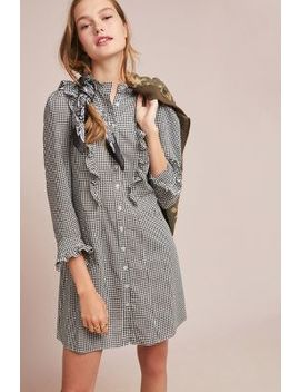 Ruffled Gingham Shirtdress by Gone With The West