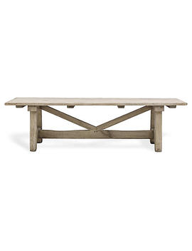 """Lexie 86.5"""" Dining Table W/Carrara, Gold by One Kings Lane"""